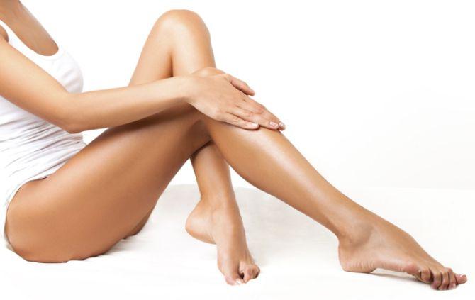 láser en piernas